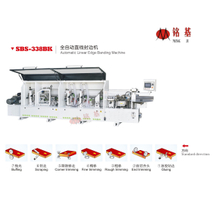 Foshan Mingji SBS-338BK Automatic egde banding machine with 7 stations