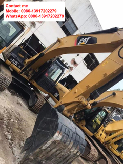 Used CAT 320D Caterpillar Crawler Excavator on Sale in China