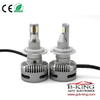 360 degree adjustable 40W 5000lm compact H7 car LED headlight bulb for projector lens
