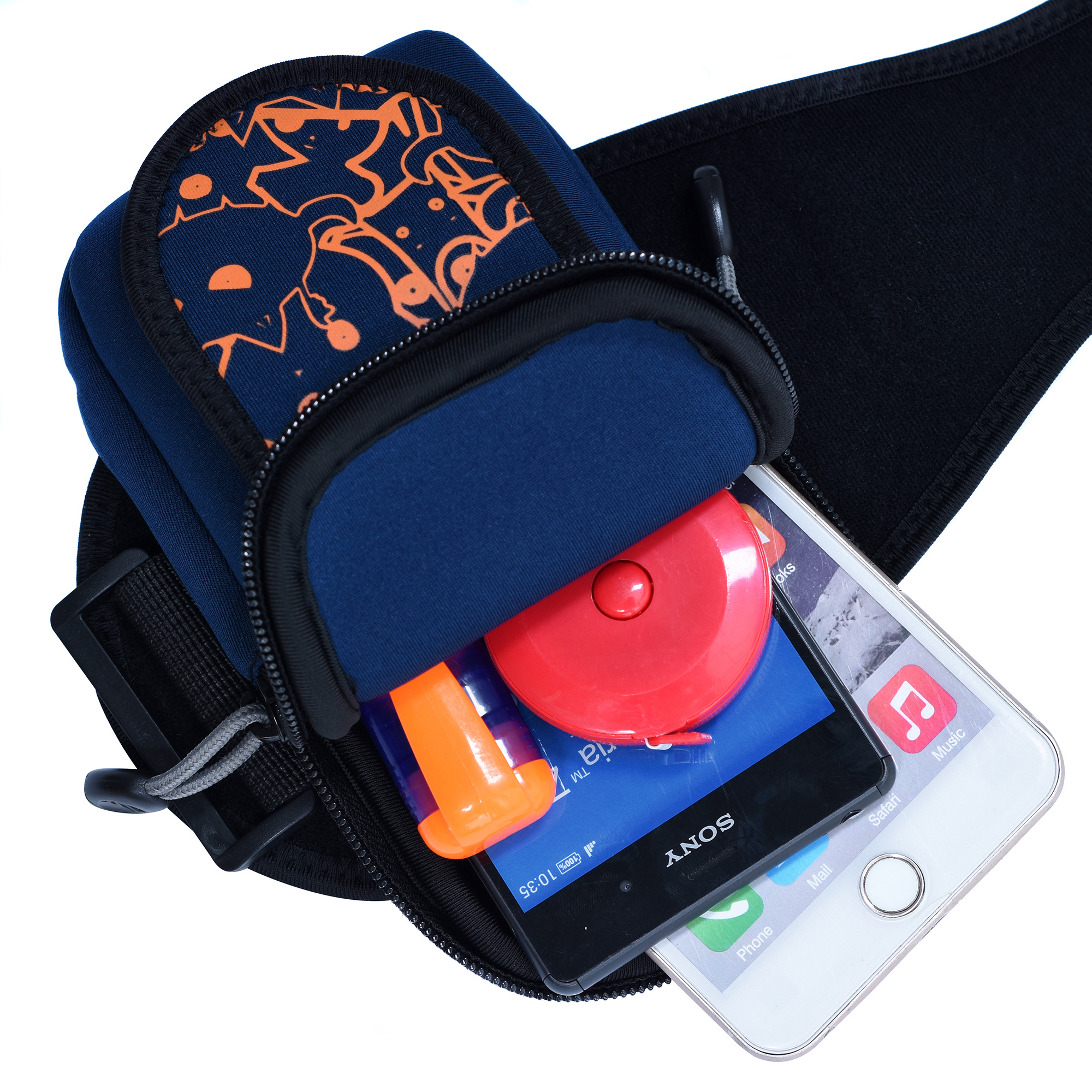 Custom Travel Arm Bag Cell Phone Outdoor Running Cycling Sport Armband