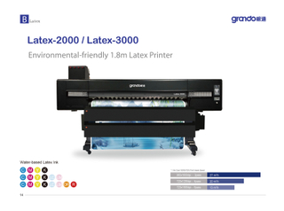 "Latex-2000 72"" Printer"
