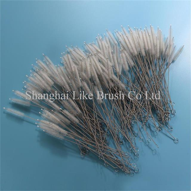 Nylon Bristle Straw Cleaning Brushes