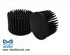GooLED-7850 Modular Passive LED Pin Fin Heat Sink Φ78mm