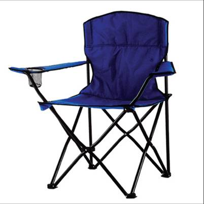 Foldable Sturdy Portable Beach Chair with Cup holder