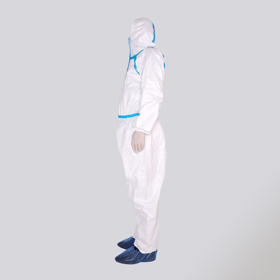 Anti Splashes Body Protector Coveralls Unisex Disposable Isolation Dust-proof Anti-bacterial Clothes