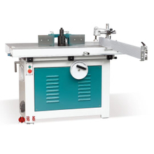 Single spindle moulder with sliding table