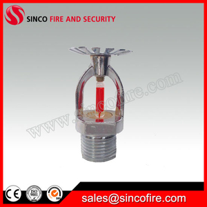 Glass Bulb Sprinkler for Closed Fire Sprinkler System