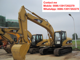 Used CAT 320C Caterpillar Crawler Excavator on Sale in China