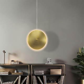 Modern Frisbee Interior Decorating Lights Home Decor Ceiling Lighting Decorative Restaurant Chandeliers Indoor Pendant Lamp
