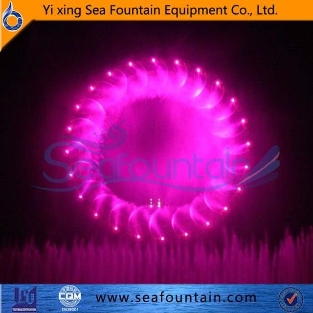 3D-Digital swing fountain