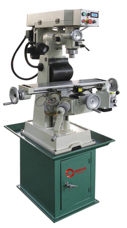 Variable-Speed Milling Machine with Power Feed ZX5015V