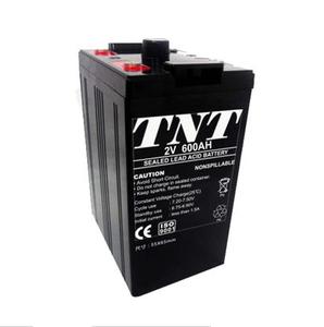 2V 600ah Sealed Gel Solar Power Deep Cycle Battery