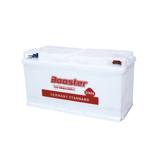 DIN90 12V 90AH Dry-charged Battery