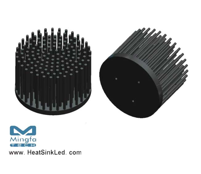 XSA-320 Pin Fin LED Heat Sink Φ58mm for Xicato Rev.2.0