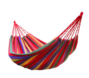 Polyester Garden Canvas Swing Hammock
