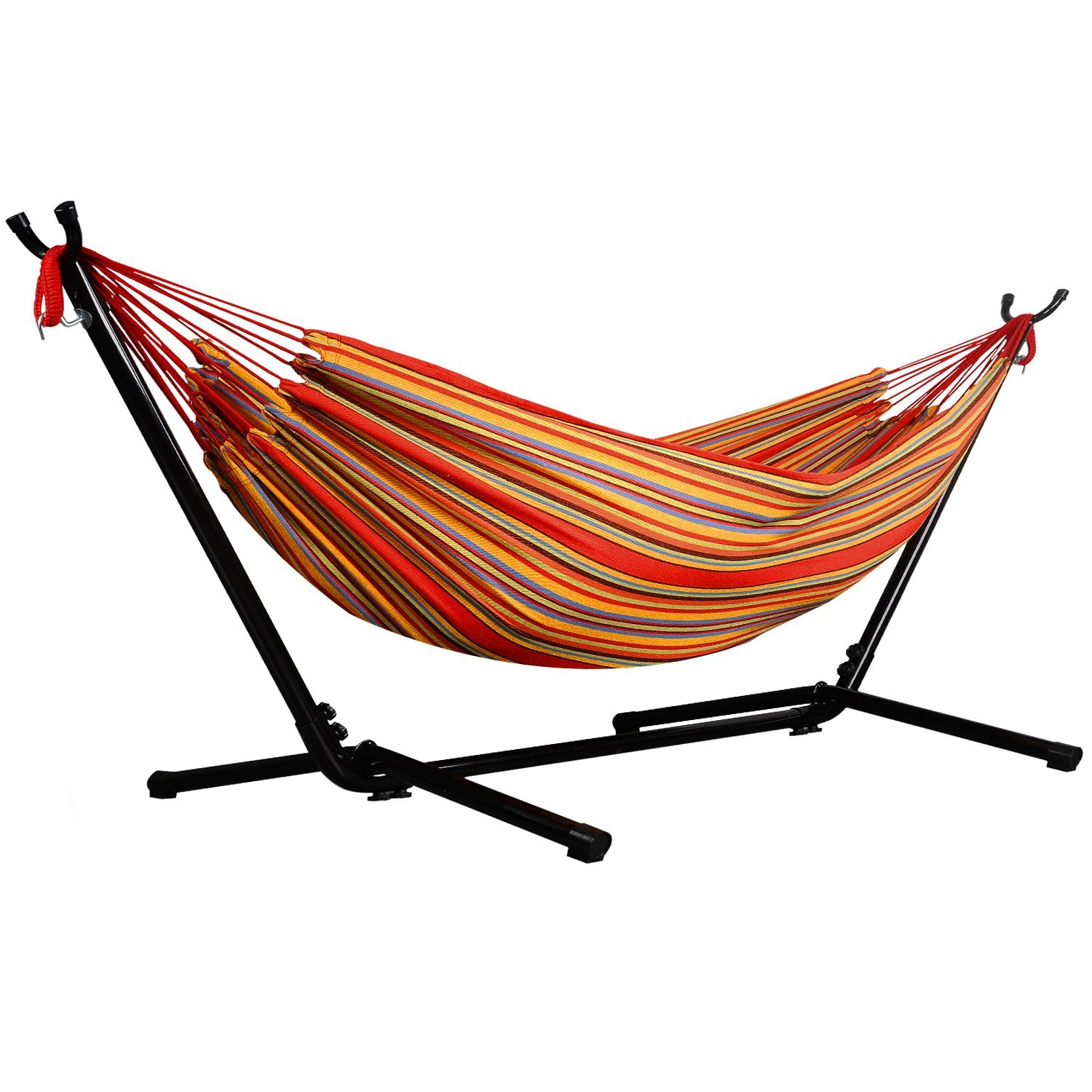 2019 Newest Print Design Cotton /Polyester Iron Hammock Stand