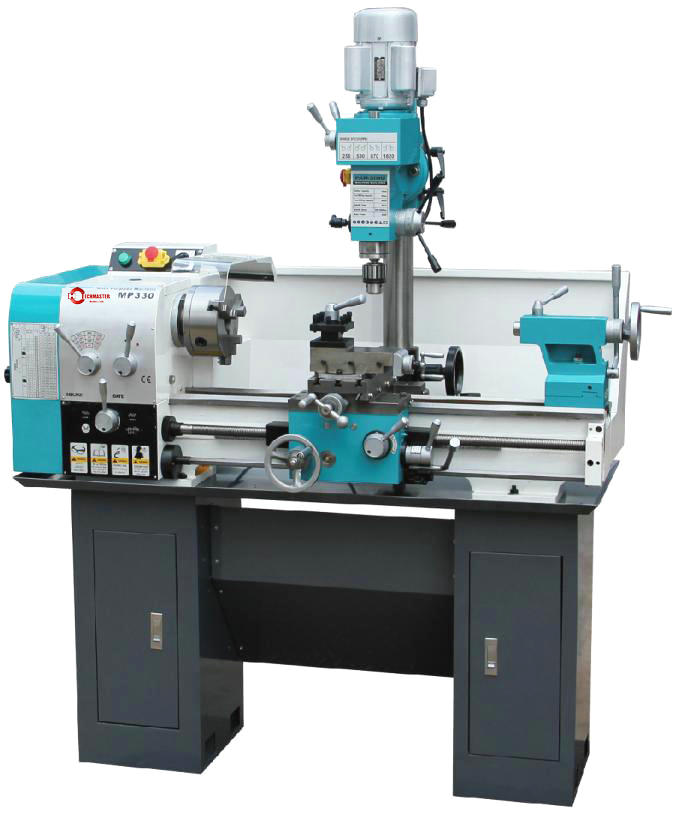 Turning lathe and milling machine MP330