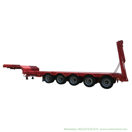 Multi Axle Steering Axle Low Bed Trailer (5-6 Axles Hydraulic Modular)