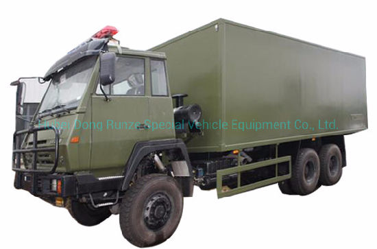 Military Troop Offroad 4X4 6X6 Mobile Camp Showers Vehicle for Satisfy 30 Soldiers Road Shower