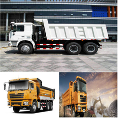 F3000 Shacman Heavy Duty Dump Trucks Mine Enhanced Edition Hot Sale