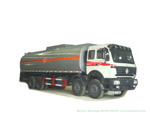 North Benz Tanker 33000 Liters Fuel Oil Tank Truck (8X4 Mobile Refueling Tanker)
