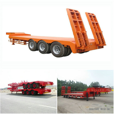 Excavator Transportation Lowbed Trailer Cheap Price