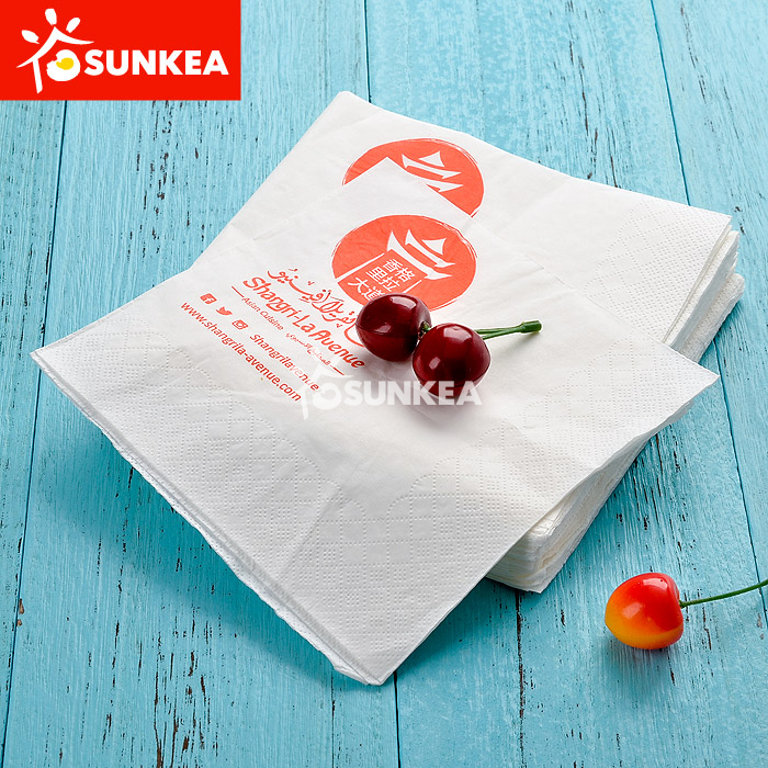 Custom Printed Paper Dinner Napkin  sc 1 st  Paper Cup Food Paper Box Plastic Cup Ice Cream Cup Paper Bag ... & Custom Printed Paper Dinner Napkin - Buy Product on Food Packaging