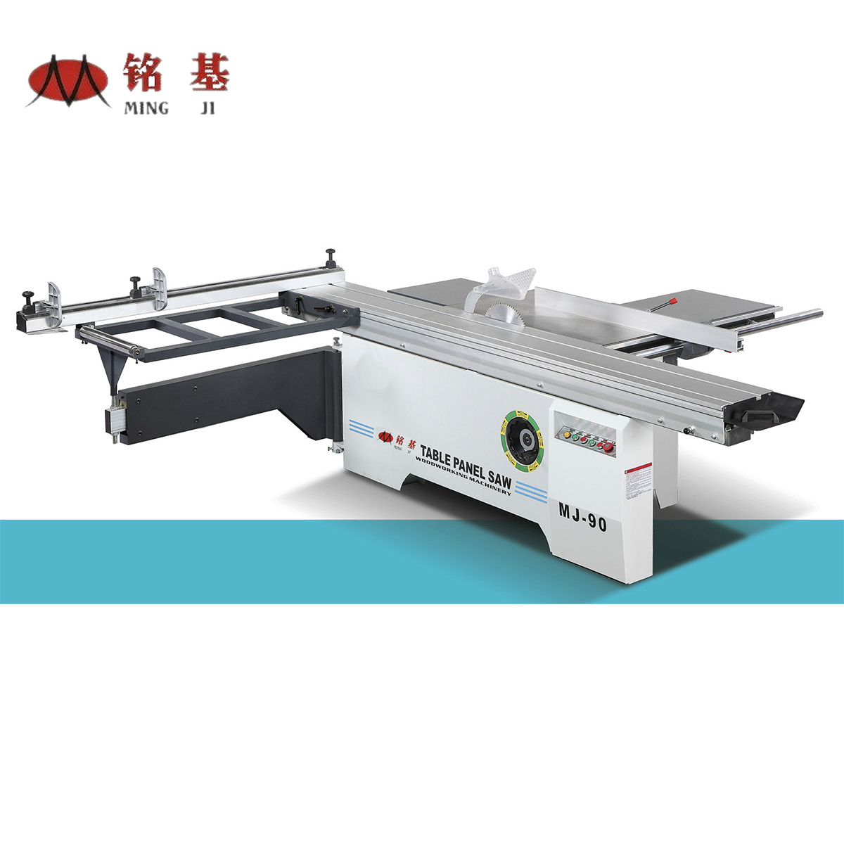 Sliding Table Saw 90 Degree (manual Saw Blade Lifting)