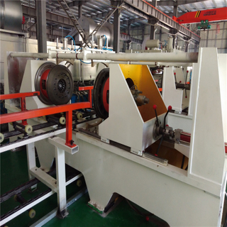 Flangers & Curlers Machine for Steel Barrel Manufacturing