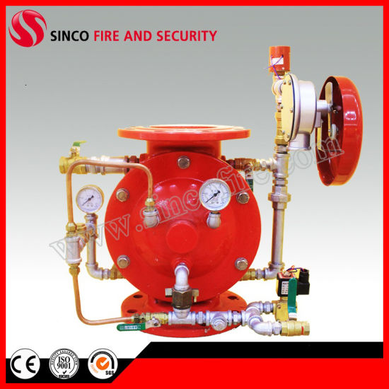 Fire Fighting Valve Sprinkler System Deluge Alarm Valve