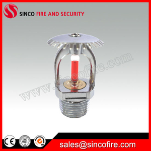 China Fire Sprinkler Brass Stainless Steel Material