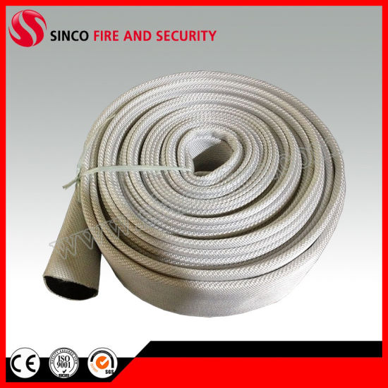 Rubber Canvas Fire Fighting Hose/Jacket Fire Hose with Rubber Lined