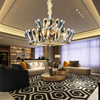 Indoor Luxury Interior Decorating Lights Morden Hotel Project Ceiling Lighting Decorative Indoor Chandeliers Pendant Lamp