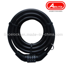 Combination Bicycle Cable Lock with 4 Digits (533)