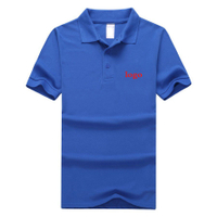 100% Cotton fabric Custom POLO tshirt