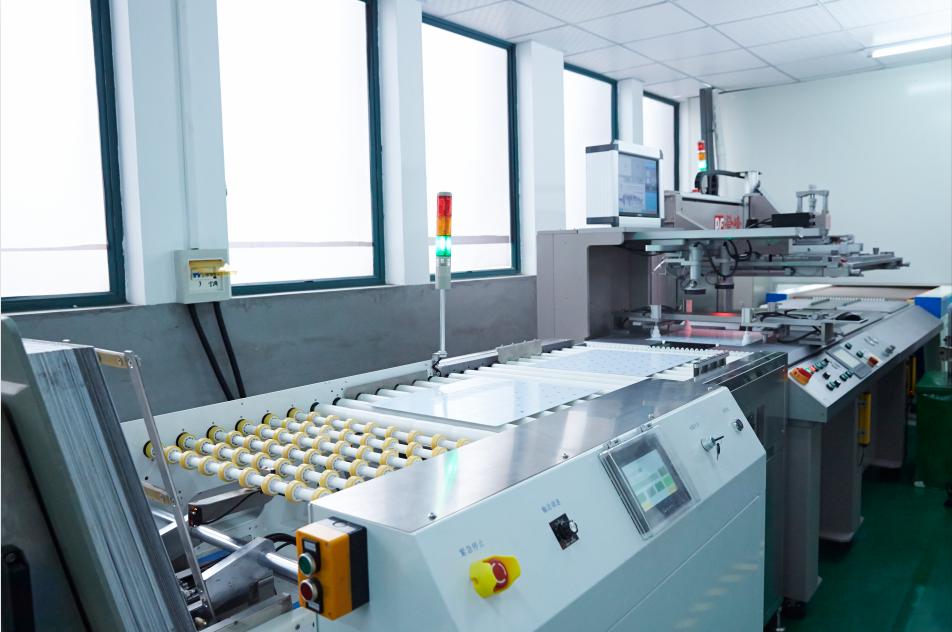 Automatic print silkscreen machine 自动丝印机-1
