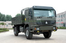 HOWO 4X4 All-wheel Drive Cargo Truck