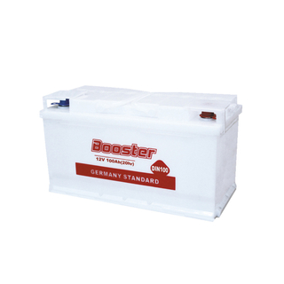 DIN100 12V 100AH Dry-charged Battery