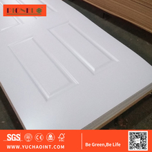 3mm Melamine Molded Door Skin, HDF Door Skin Used for Interior Door