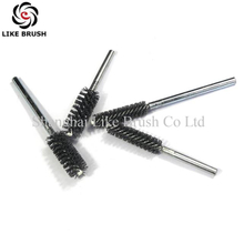 Abrasive Nylon Tube Brushes with Round Shank