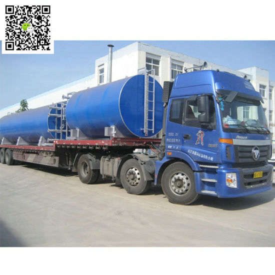 Oil Fired Heats Asphalt Tank, Bitumen Tank (Storage Capacity 34CBM-100CBM Skid with 2 Burners for Hot Liquid Asphalt)