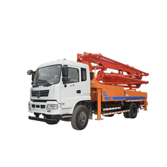 King Run Intelligent Remote Control Concrete Pump Truck Boom 27m-28m-30m-34m