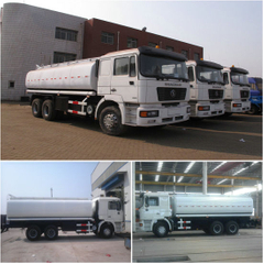 Shacman Oil Tanker Trucks 25000L F2000/6X4 Euro3 Common Rail Injection