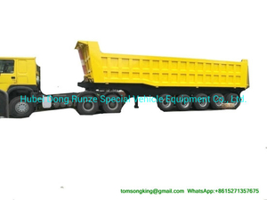5 Axles Tipper Trailer for 90 Ton Mangenese and Bauxite Ores Transport