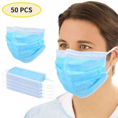 Civil use 3 Ply Non-woven Disposable Face Mask