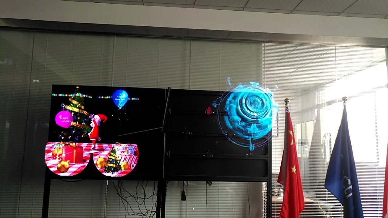 3D Hologram Advertising LED FAN 3D Hologram Projector - Buy