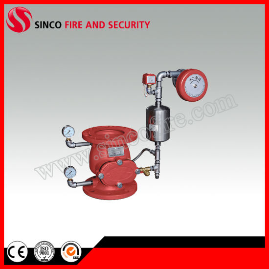 Ductile Iron Fire Fighting Valve Alarm Check Valve 4""