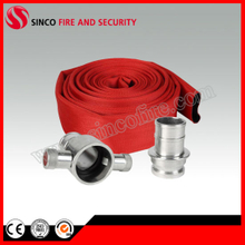 Red Fire Hose with British John Morris Coupling