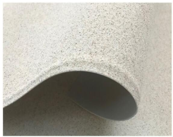 Pre-Applied HDPE Self Adhesive Waterproof Membrane with Surface Sand