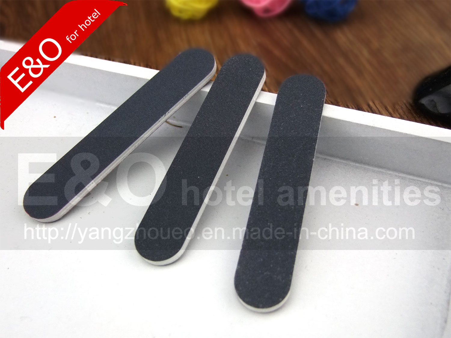 Hotel Amenity Gray Color Short Nail File Emery Board - Buy KEYWORD1 ...